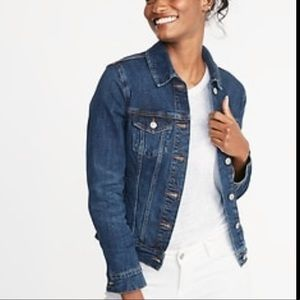💰2/30💰 GAP Iconic Cut Dark Wash Jean Jacket
